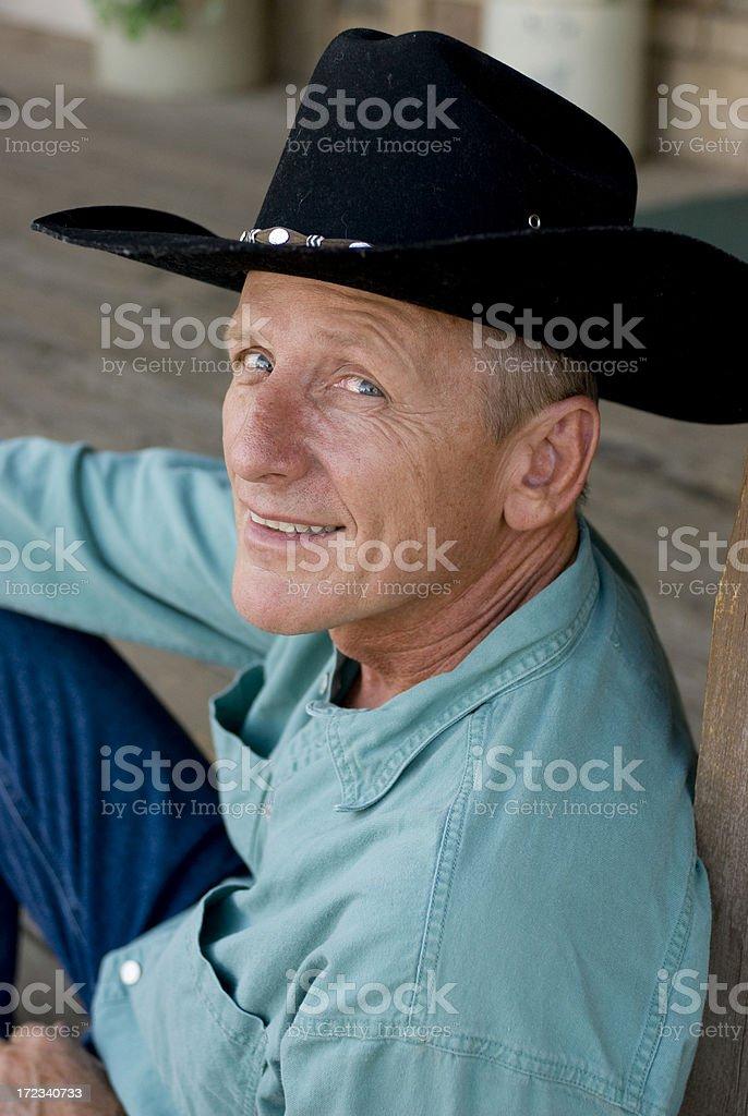 cowboy, royalty-free stock photo