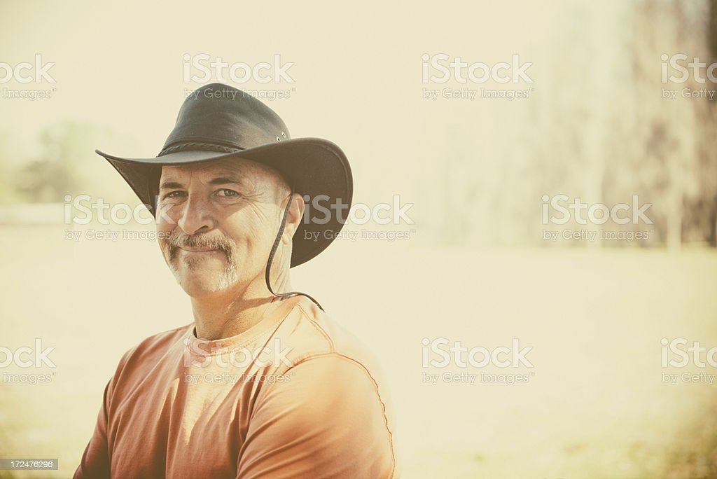 Cowboy royalty-free stock photo