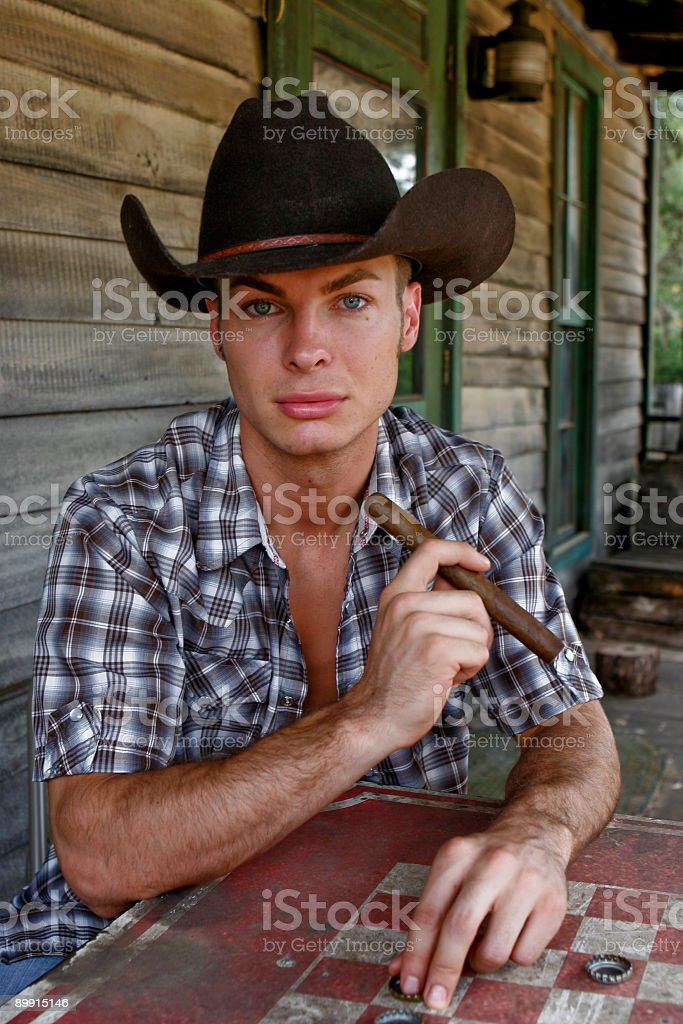 cowboy foto stock royalty-free
