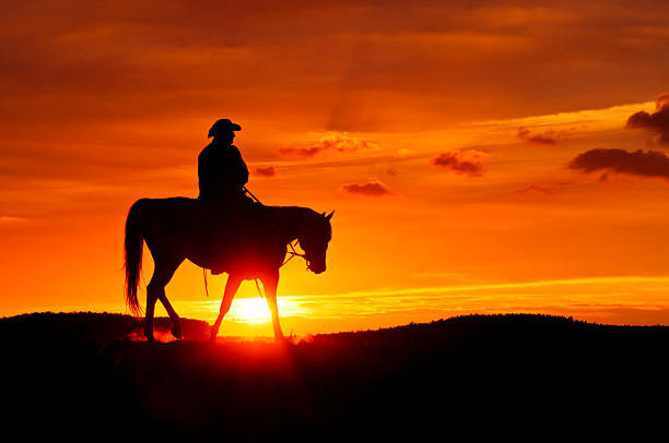 Cowboy rides during the sunset picture id155438825?b=1&k=6&m=155438825&s=612x612&w=0&h=uxxttuyeqs5dxdr4znzpoyi 8lo2ja rjelgoxjabr0=