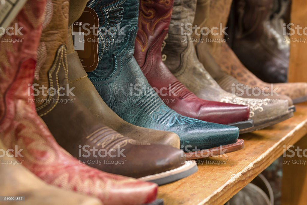 Cowboy Store stock photo
