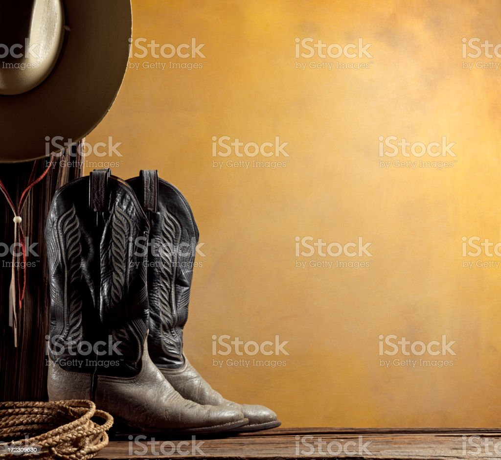 Cowboy Theme stok fotoğrafı