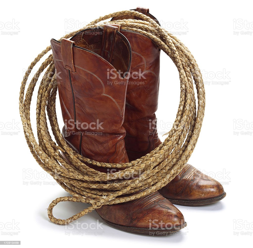 Cowboy Theme stock photo