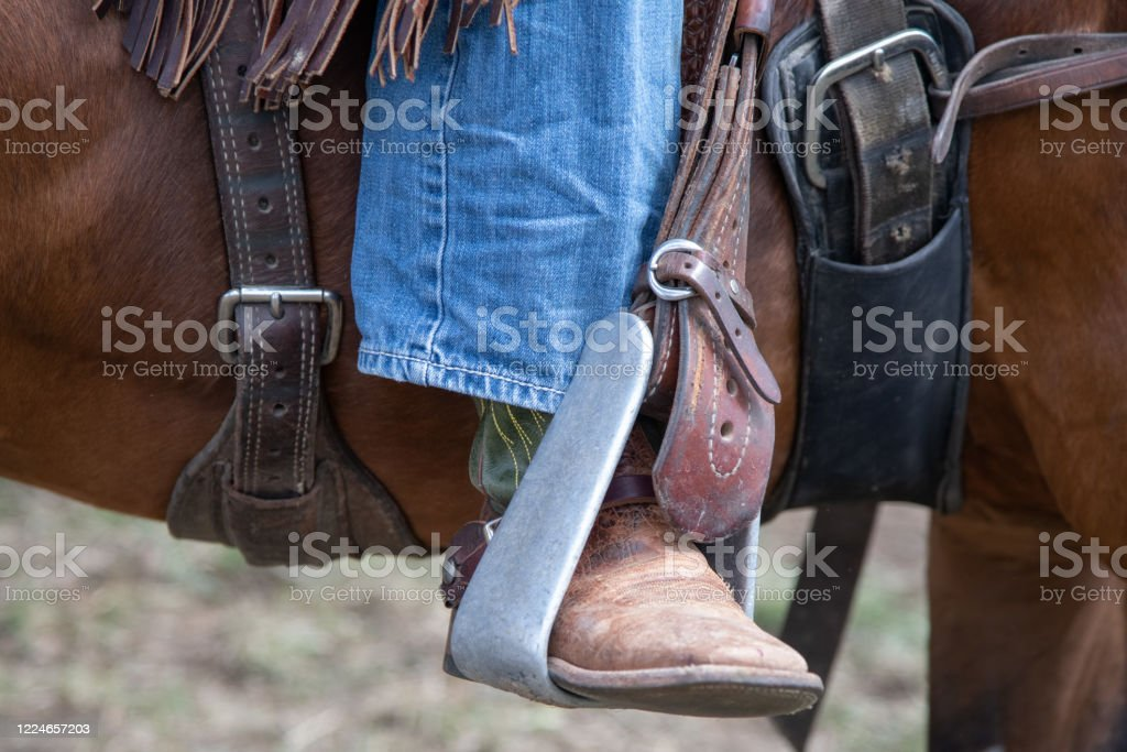 Cowboy Western Roping And Riding Gear Of Western Usa Stock Photo Download Image Now Istock