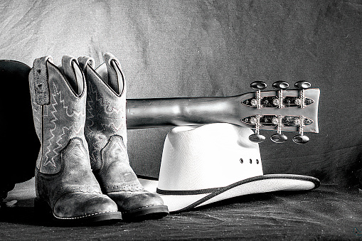 istock Cowboy Western Scene 531886607