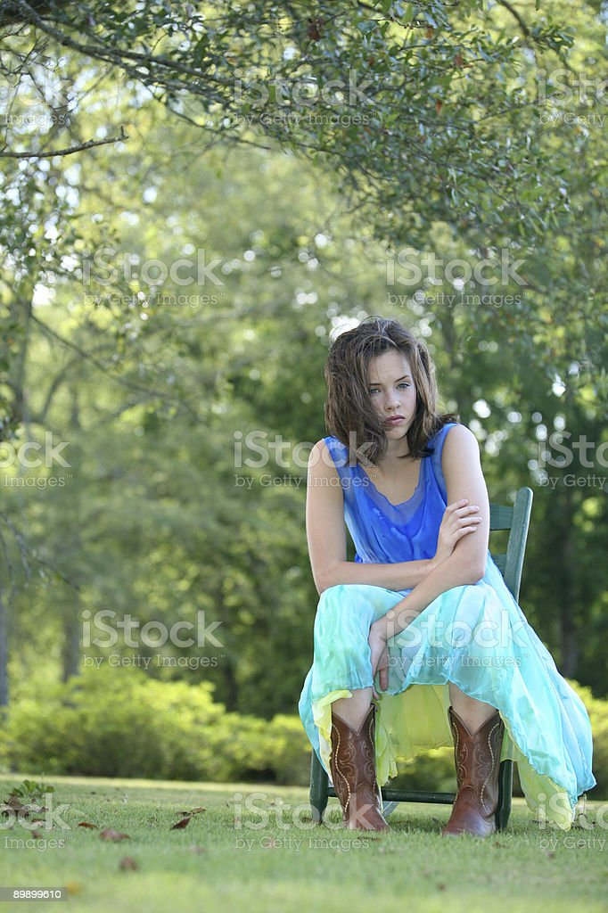 Cowgirl Beauty royalty free stockfoto