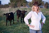 istock Cowgirl 120936447