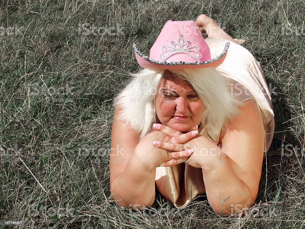Cowgirl! (B is beautiful) royalty-free stock photo