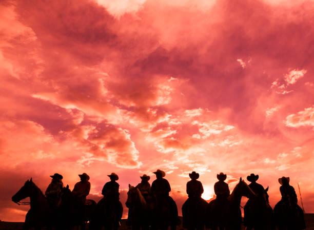 otları kovboylar santaquin Vadisi Salt lake City SLC Utah ABD kırsal bir araya stok fotoğrafı