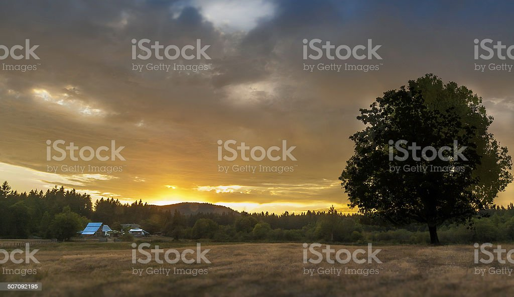 Cowichan Valley stock photo