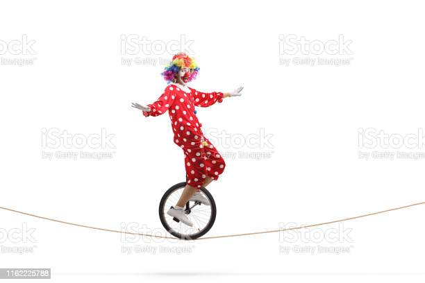 Cown riding a unicycle on a rope picture id1162225788?b=1&k=6&m=1162225788&s=612x612&h=ccddbuuycobhyatlxp3ohb7djzhgt2drjjda 15zju8=