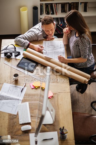507263268 istock photo Coworkers working together 466337034