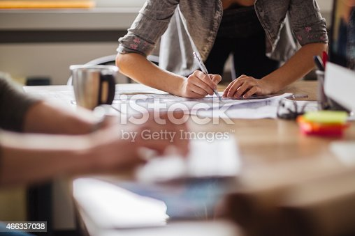 507263268 istock photo Coworkers working together 466337038
