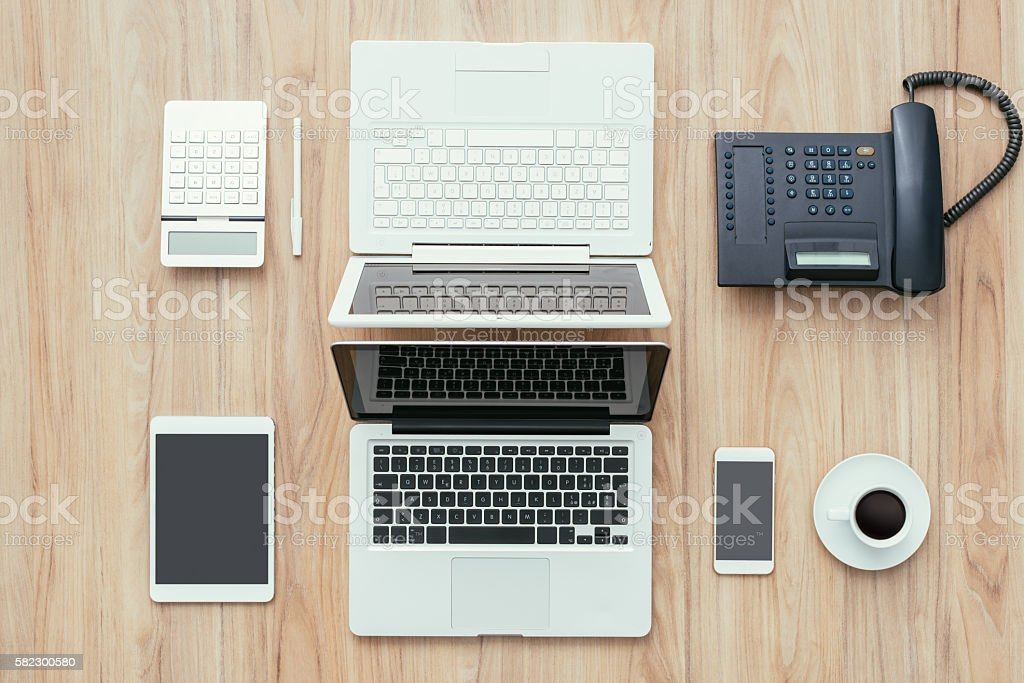 Coworking space stock photo