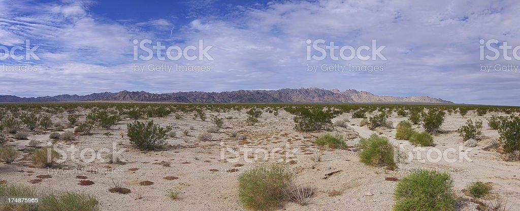 Coxcomb Mountains, California royalty-free stock photo