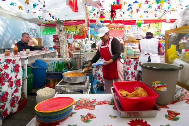 Mercado de Coyoacán - foto de stock