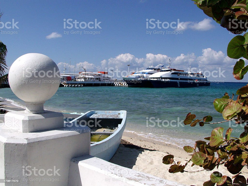 Cozumel royalty-free stock photo