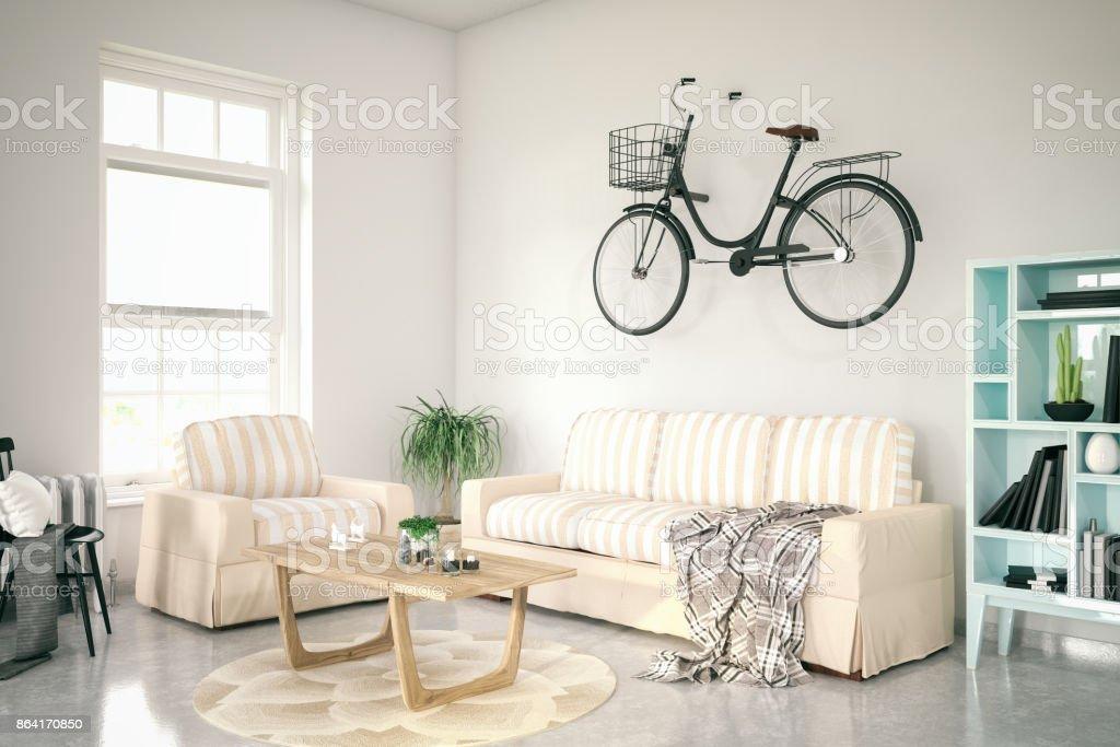 Cozy Apartment royalty-free stock photo
