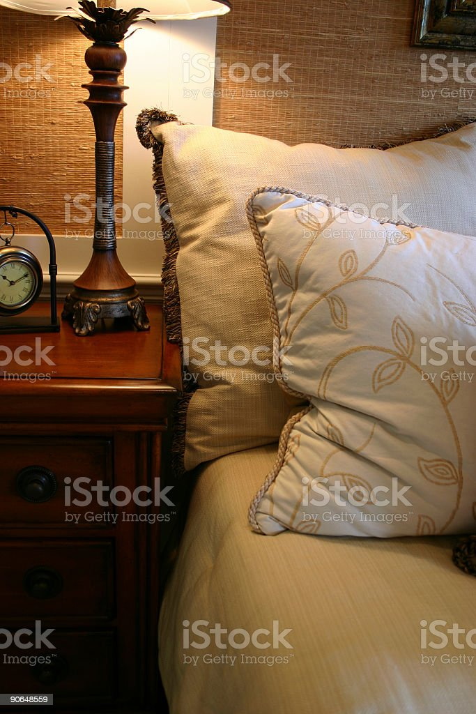 Cozy Bedside royalty-free stock photo