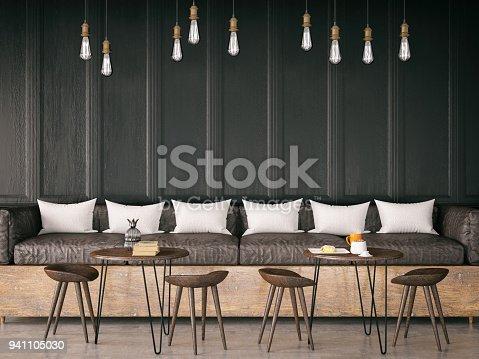 istock Cozy Cafe Interior 941105030
