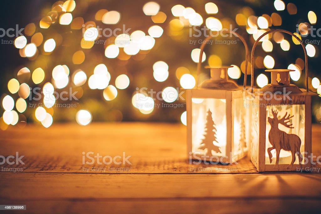 居心地の良いクリスマスの祝日。 ロイヤリティフリーストックフォト