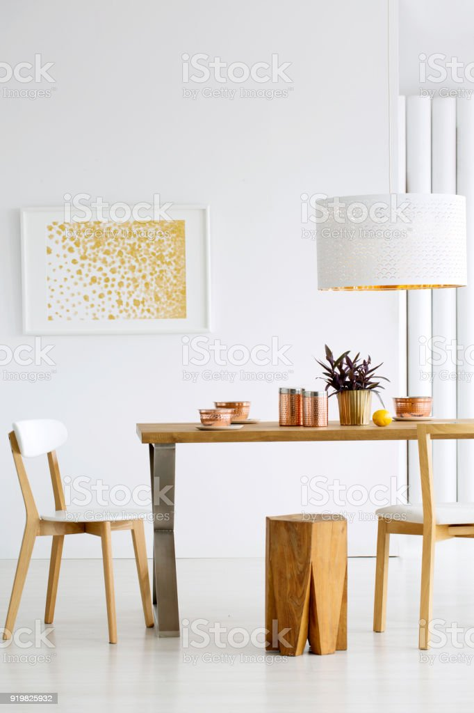 Cozy Dining Room Interior Stock Photo & More Pictures Of