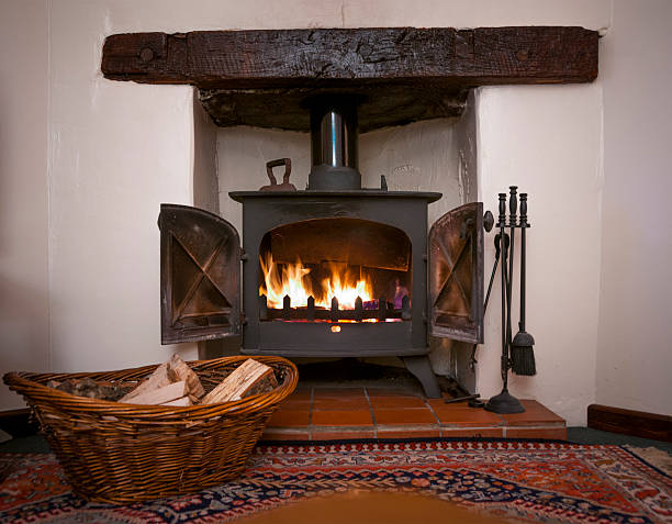 Royalty Free Wood Burning Stove Pictures Images And Stock