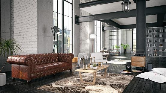 istock Cozy House Interior 953804632