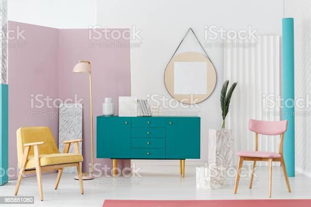 Gezellige Woonkamer Interieur Stockfoto en meer beelden van Appartement