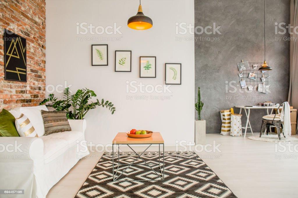 Gemütlichen Loft Interieur Stock-Fotografie und mehr Bilder von ...