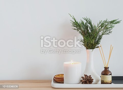 istock Cozy modern home details. 1015336026