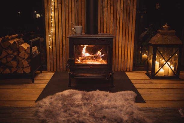 Cozy place for rest stock photo