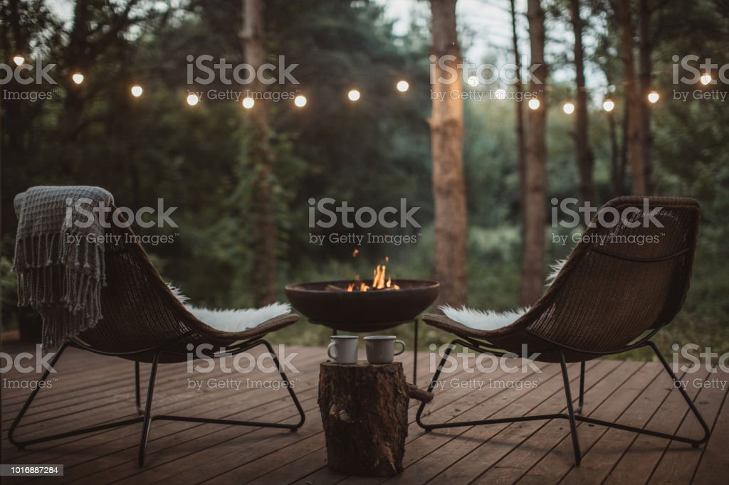Cozy place stock photo