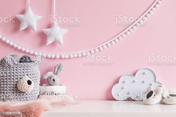 Cozy scandinavian newborn baby room with gray basket white stars lamp picture id1153825379?b=1&k=6&m=1153825379&s=612x612&h=ufmjpl5qklfcvgelswas3nfzqxv 7fvzr0irs4jmov0=
