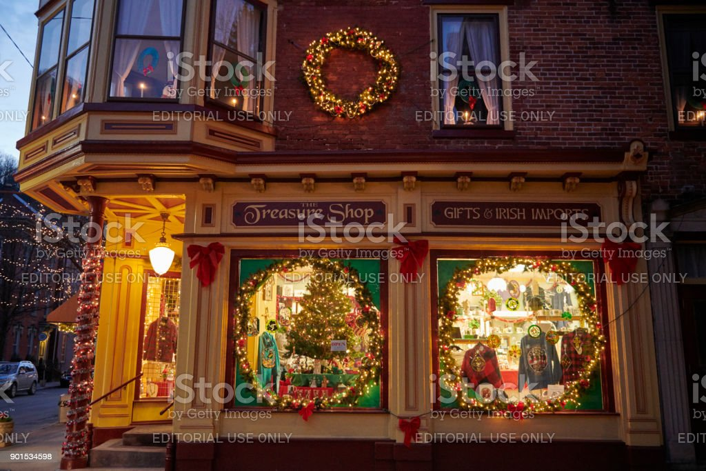 Jim Thorpe city is famous for the impressing Christmas decorations....