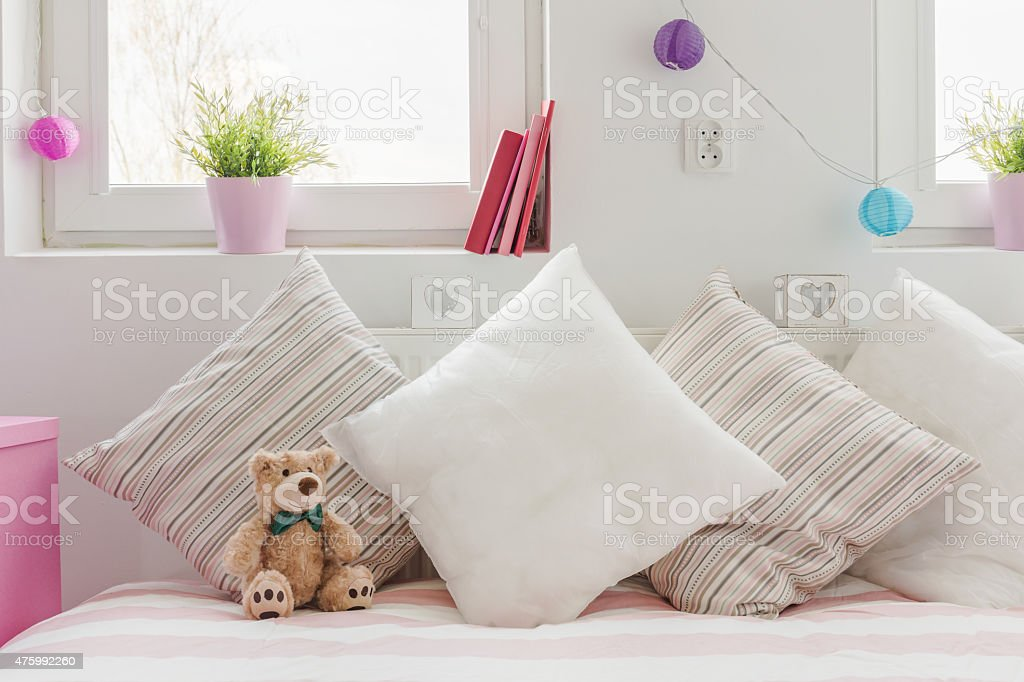 Cozy space for little child stock photo