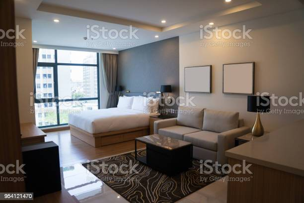 Cozy studio apartment design with bedroom and living space picture id954121470?b=1&k=6&m=954121470&s=612x612&h=9zygffrrpwistjx3bo4opscuohngbgydvkwrkmybmmi=