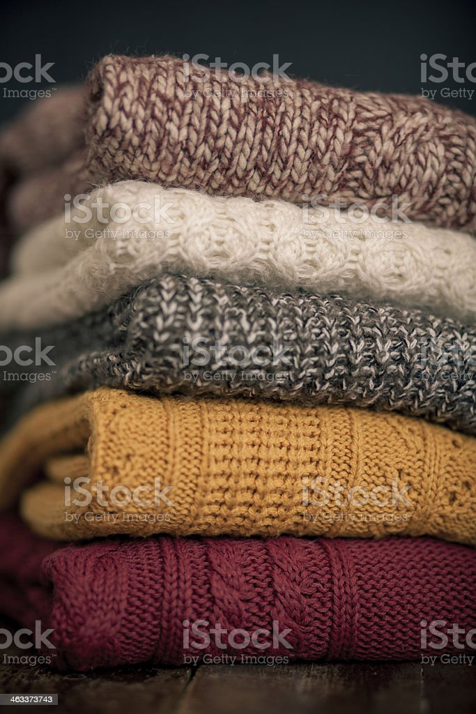 cozy things stock photo