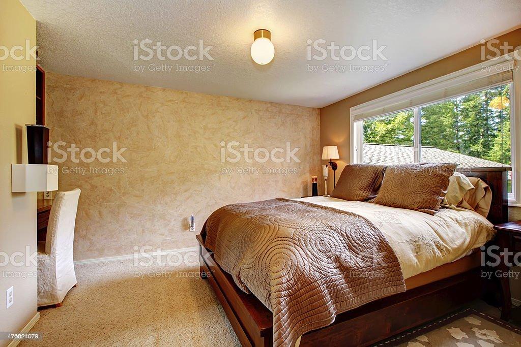 Gemütliche Warme Farben Schlafzimmer Stockfoto und mehr ...