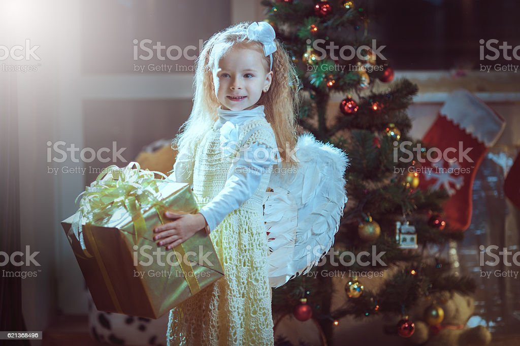 Cozy warm winter evening at home. stock photo