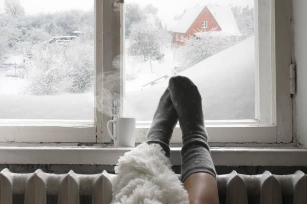 cozy winter still life - hygge imagens e fotografias de stock
