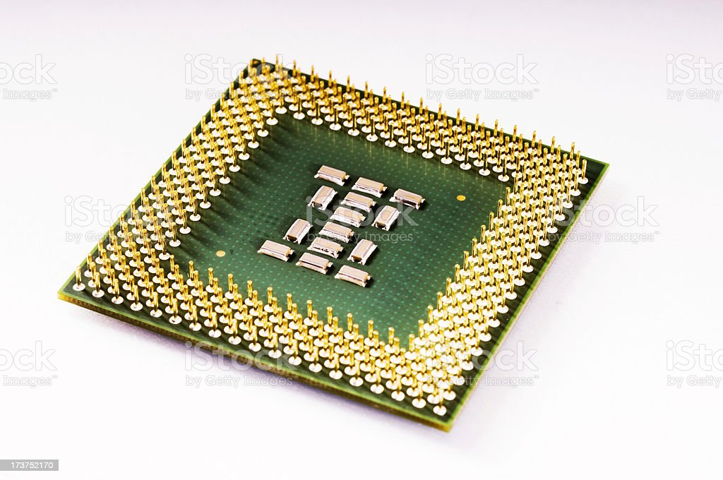 Cpmputer CPU stock photo
