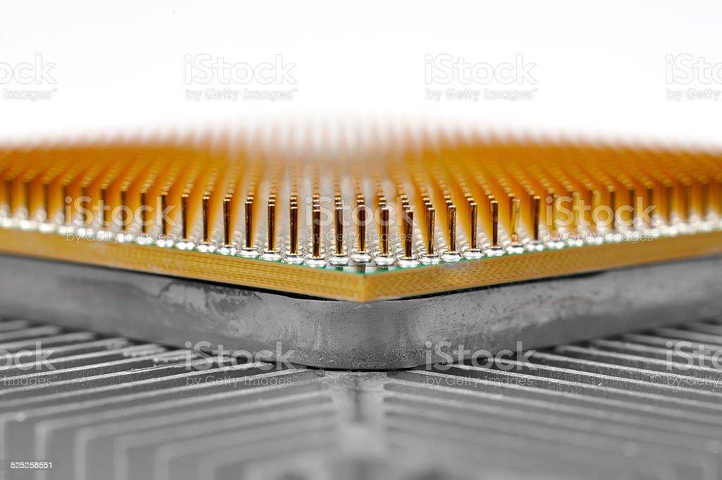 cpu chip stock photo