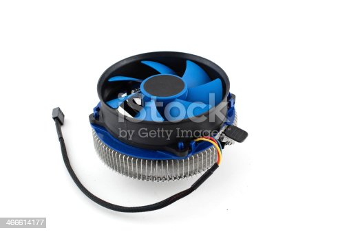 istock cpu cooler on a white background 466614177