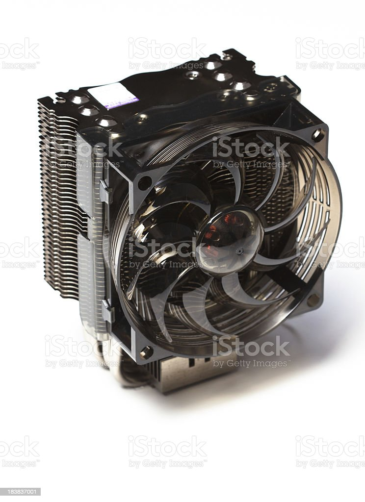 cpu fan stock photo