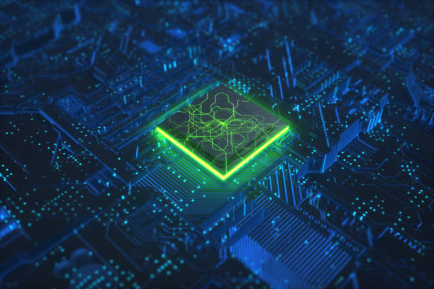 Cpu technology networks board background close up Artificial Intelligence technology brain for backgrounds.Artificial Neural Networks cpu circuit board computer chip stock pictures, royalty-free photos & images