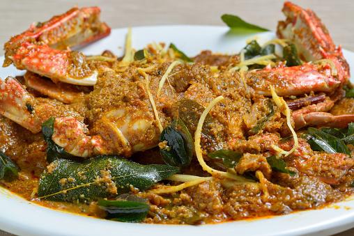 Crab Masala Stock Photo - Download Image Now