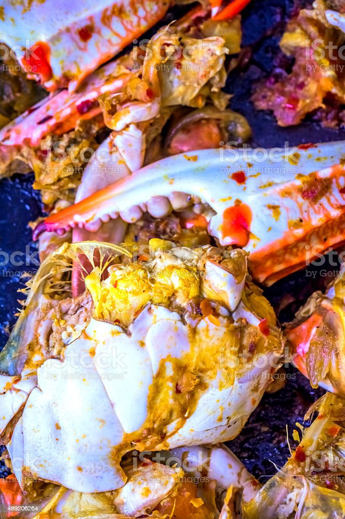Crab Meat stock photo