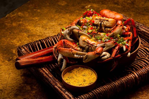 crab meat - krabba bildbanksfoton och bilder