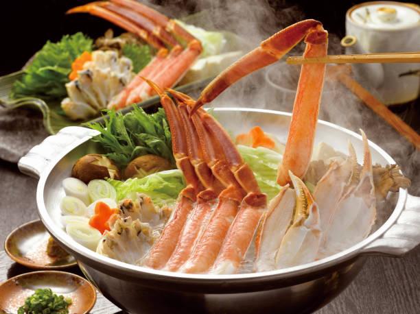 Crab Shabu Shabu stock photo